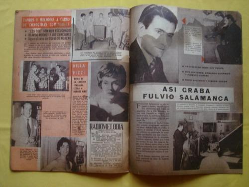 revista radiomelodia n° 217 año 1960.los panchos, baby bell