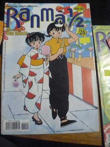 revista ranma 1/2 1999 rumiko takahashi toukan mexico 24 e58