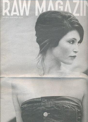 revista raw magazine: gemma arterton / pierre morisset