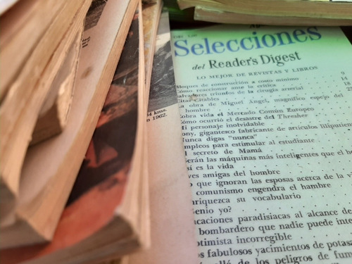 revista reader's digest lote casi 200 tomos