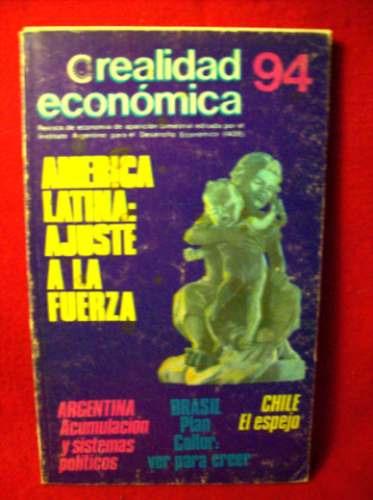 revista realidad economica nº94 marcos arruda tenewicki pini