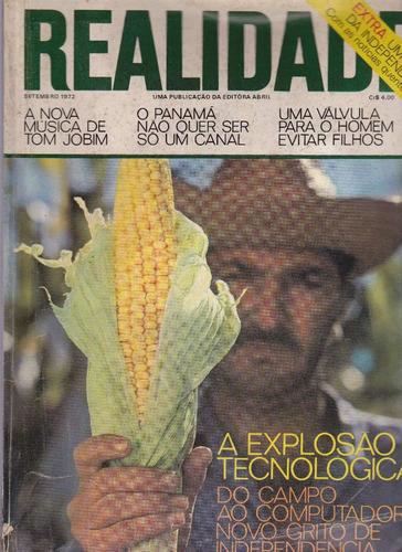 revista realidade nº 78 - setembro de 1972