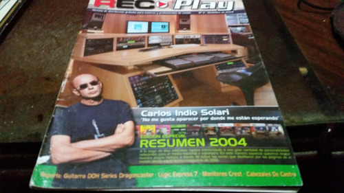 revista rec play numero 11 nota indio solari