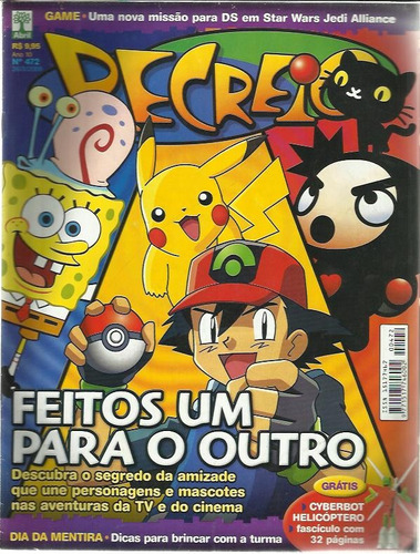 revista recreio nº 472