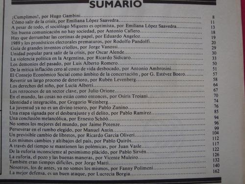 revista redaccion n° 181 1989 15 años defendiendo democracia