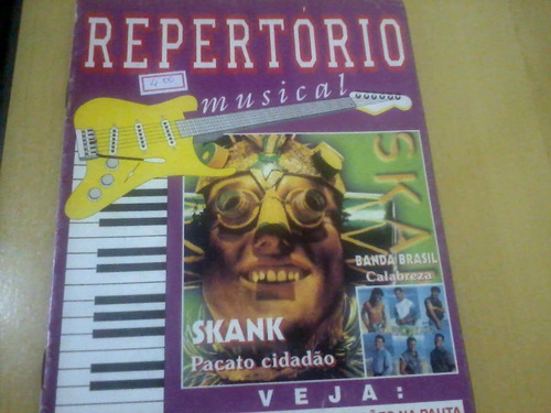 revista repertório musical nº2 skank banda brasil
