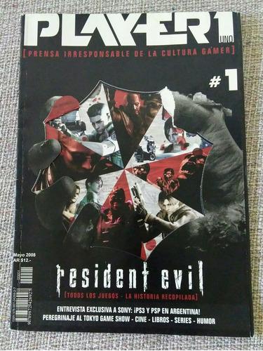 revista resident evil player historia del juego