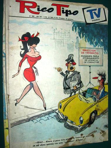 revista rico tipo divito 1067 historietas humor - deterioros