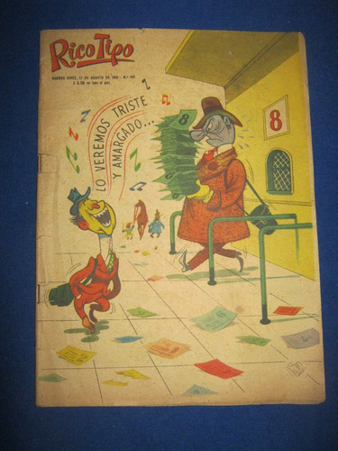 revista rico tipo numero 449 año 1953