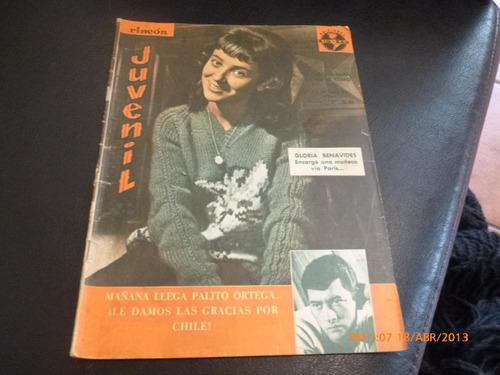 revista rincon juvenil - 29-4-65 gloria benavides  (w61