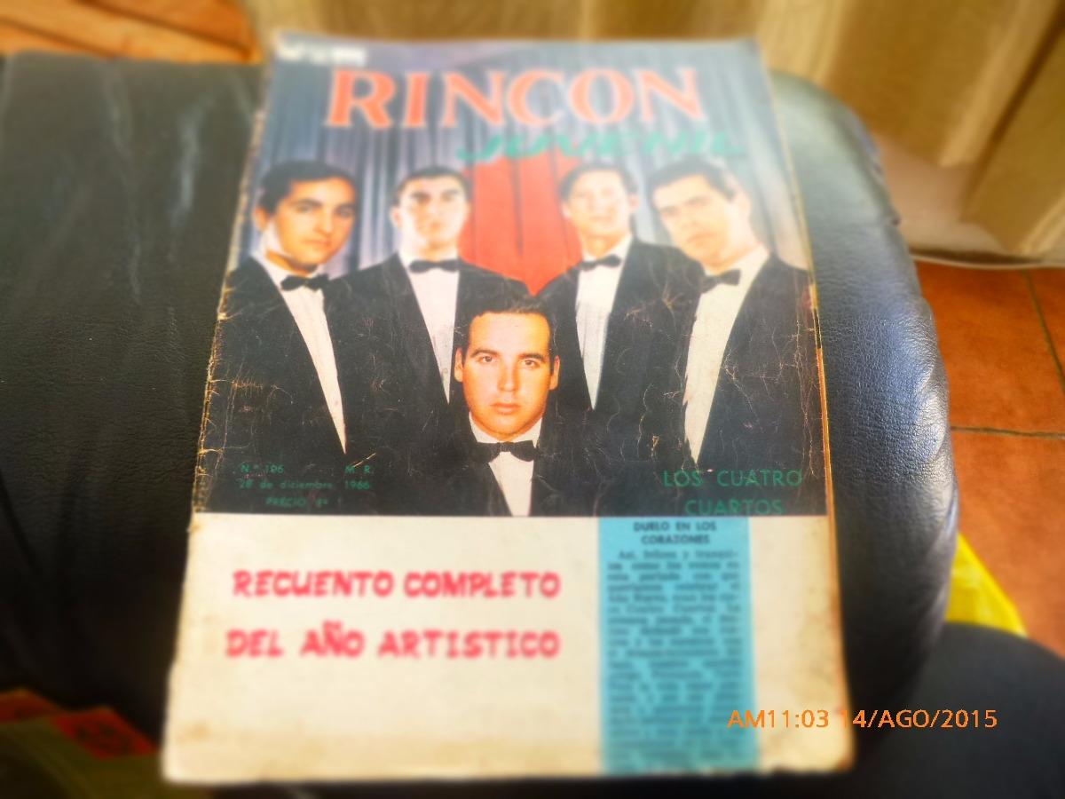 Revista Rincon Juvenil - N° 106 -los Cuatro Cuartos (w30 - $ 3.500 ...
