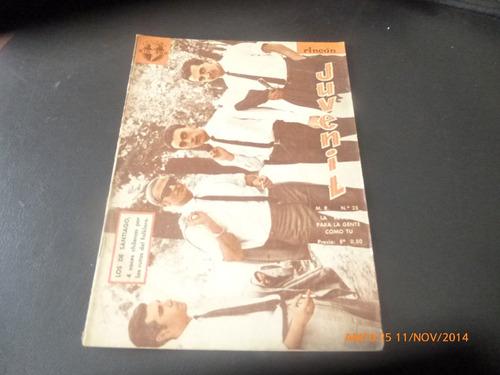 revista rincon juvenil n° 25-los de santiago - (w66