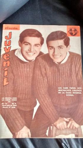 revista rincon juvenil n° 31  los carr twins  i adams(318