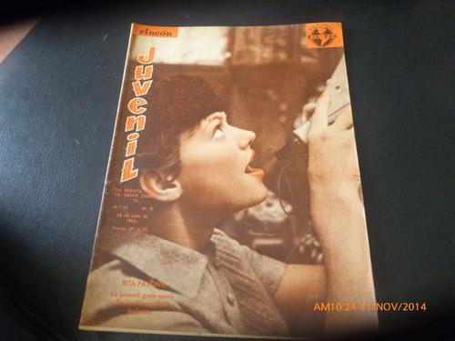 revista rincon juvenil n° 33- rita pavone  (283