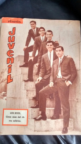 revista rincon juvenil n° 33 -- rita pavone - los ecos (w35