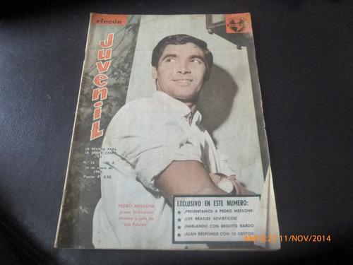 revista rincon juvenil n° 58 - pedro messone -b. bardot(w46