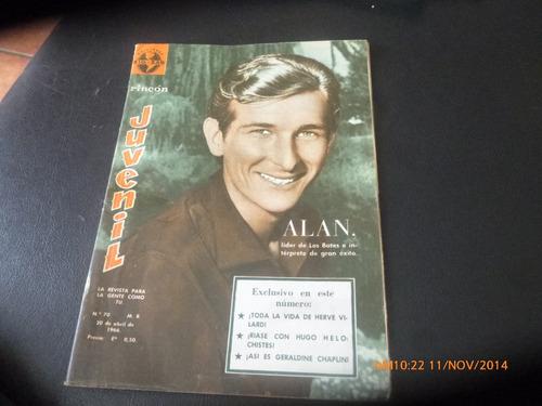 revista rincon juvenil n° 70 - alan  --geraldin chaplin(298