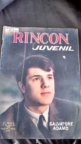 revista rincon juvenil n°108 salvatore adamo (279