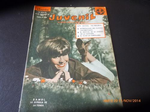 revista rincon juvenil n°40 --banbi -antonio prieto  (276