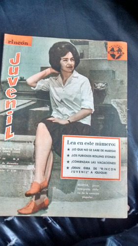 revista rincon juvenil n°54 - marisa (w70