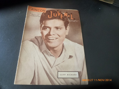 revista rincon juvenil n°9 - cliff richard (307