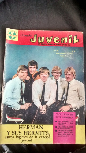 revista rincon juvenil n°98 - herman y sus hermits (290