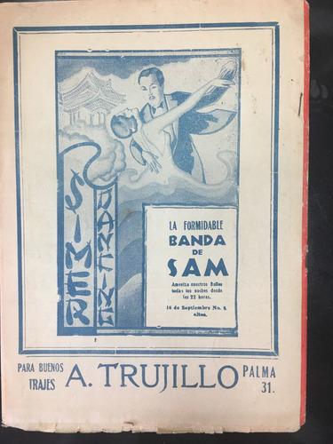 revista ring de 1937 angel monarrez unica