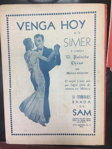 revista ring de 1937 juan zurita y tio torres unica
