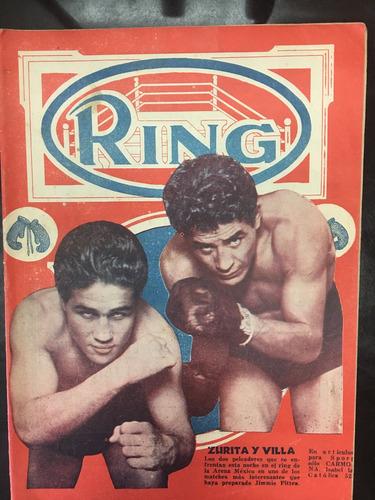 revista ring de 1937 zurita y villa unica