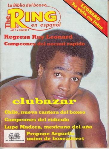 revista ring en español año 7 numero 1 enero 1984