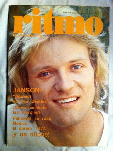 revista ritmo  janson nº 449, 1974 camilo sesto abba peret