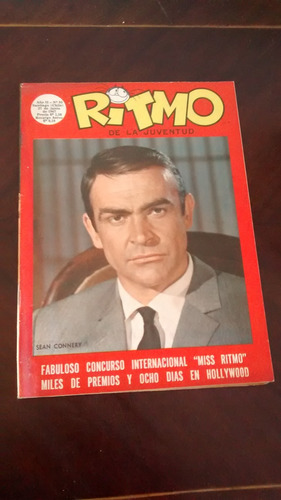 revista ritmo n°95 -sean connery - foto n°29-30(357