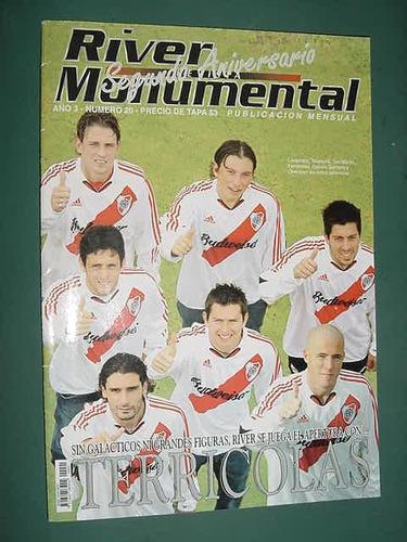 revista river monumental 20 marcelo gallardo plantel apertur