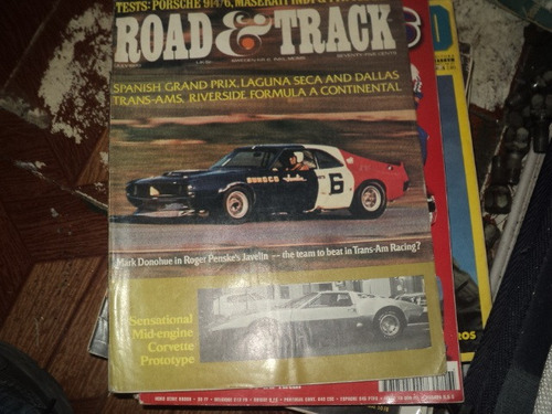 revista road e track julho 1970