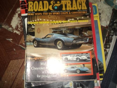 revista road e track julho1968
