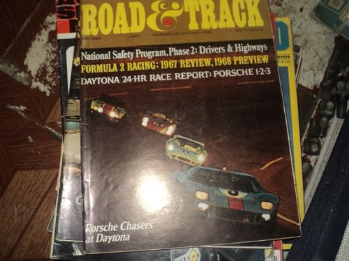 revista road e track maio 1968