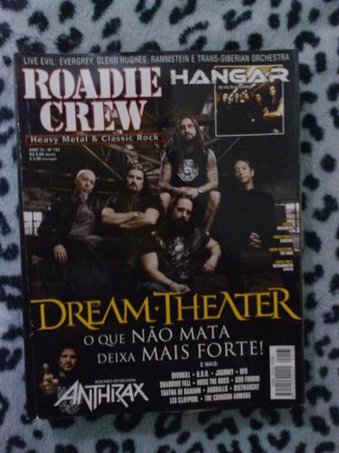 revista roadie crew - ano 12 nº 133 dream theater