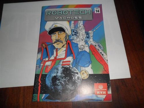 revista robotech macross 2000 planeta dagostini avh nº 14