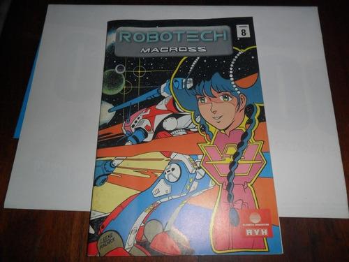 revista robotech macross 2000 planeta dagostini avh nº 8