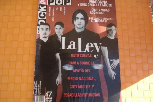 revista rock and pop 47 la ley