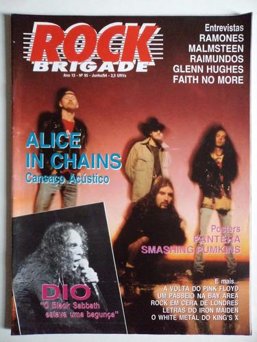 revista rock brigade ano 13 - número 95
