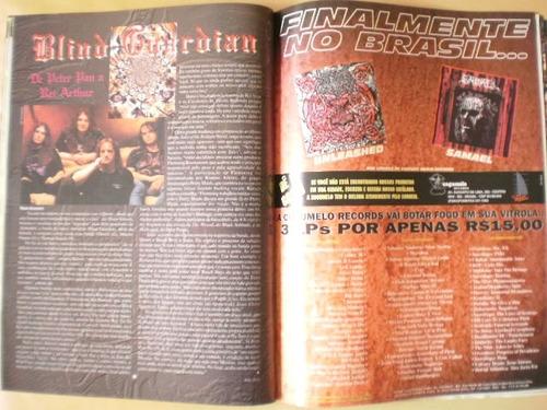 revista rock brigade ano 15 edição 115 fevereiro/1996
