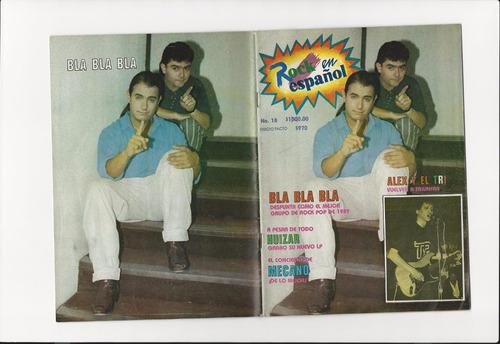 revista rock en español # 18