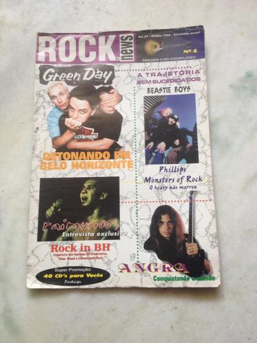 revista rock news n 4 green day  raimundos ....