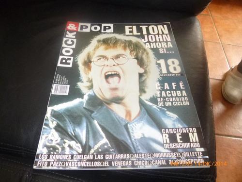 revista rock & pop   elton john n ° 18 nov 95
