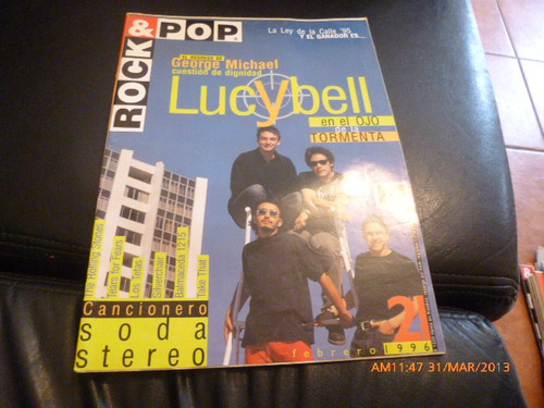 revista rock & pop   lucybell  n º 21 febrero 1996
