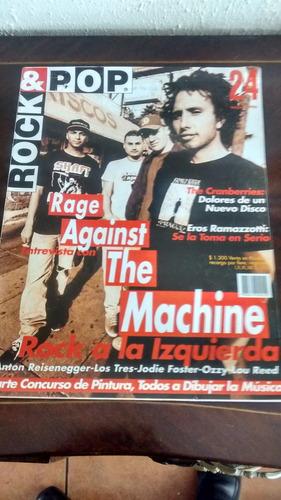 revista rock & pop  - n°24 the machine