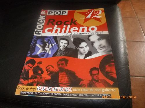 revista rock & pop   rock chileno n ° 12-  mayo  95