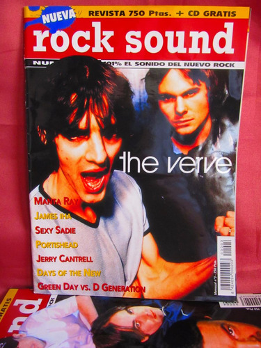 revista rock sound the verve nro 3
