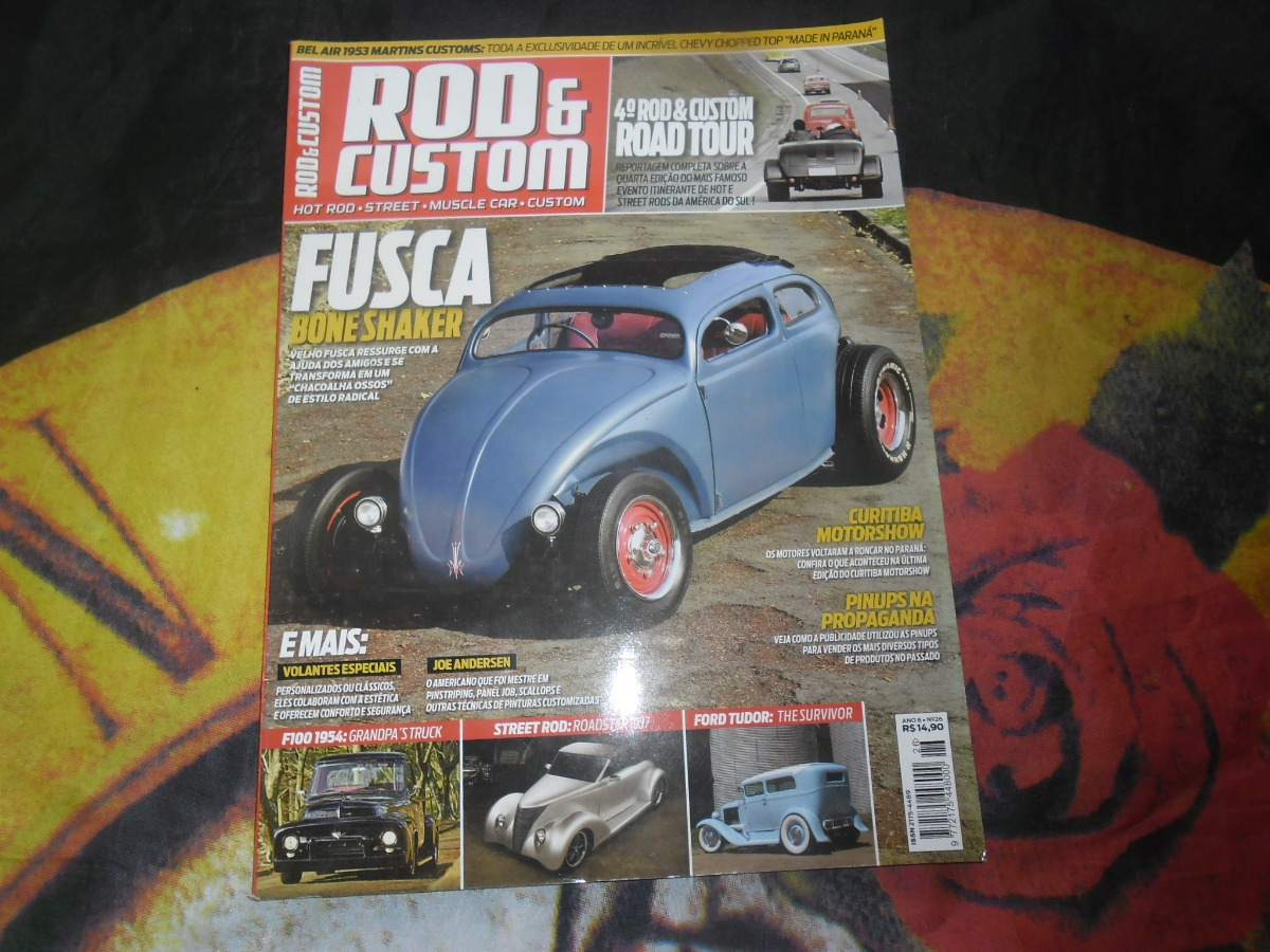 revista rod & custom